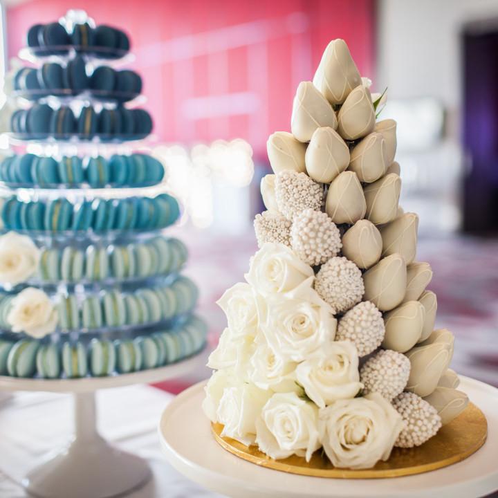 Australian Women Network seminar cake decor table