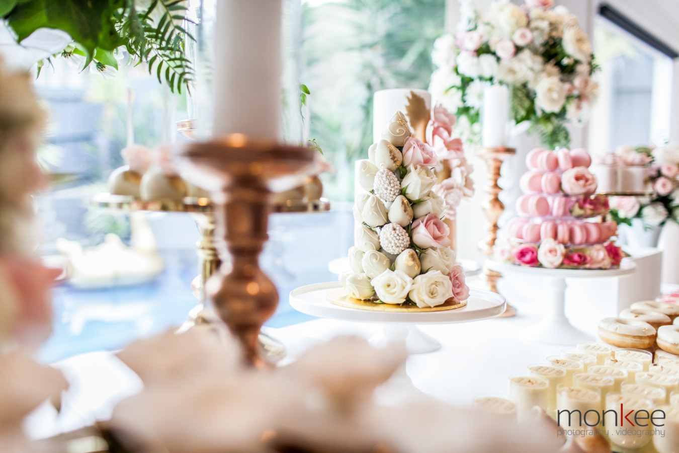 cake table decoration for one of the bridal shower in house party decor by oh feri event styling