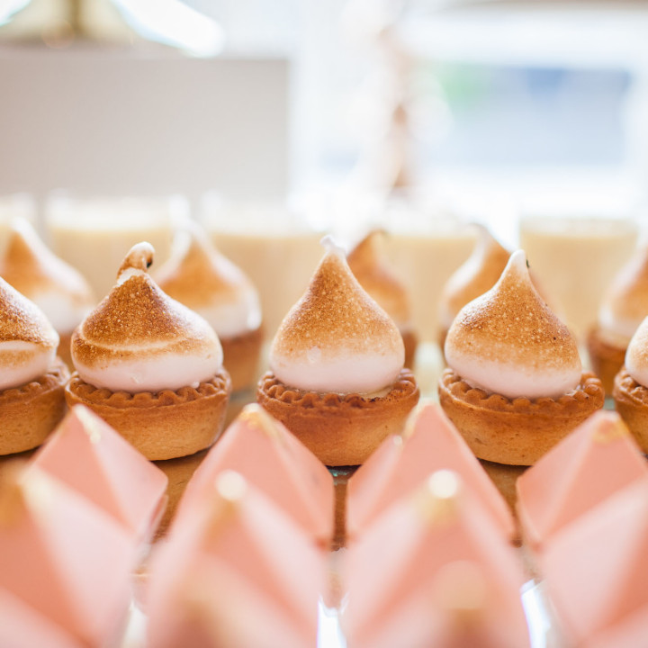 Bridal shower cake table decoration