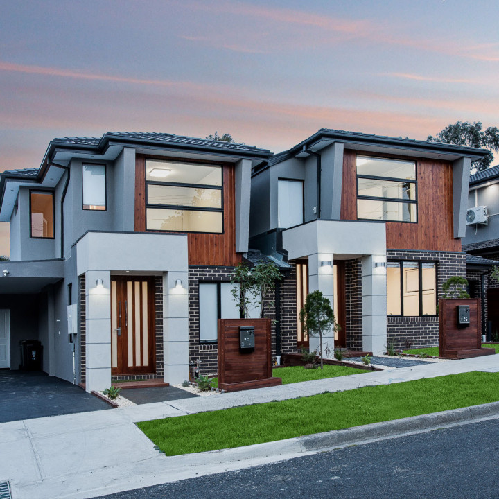 Townhouse real estate photo @ Templestowe Lower
